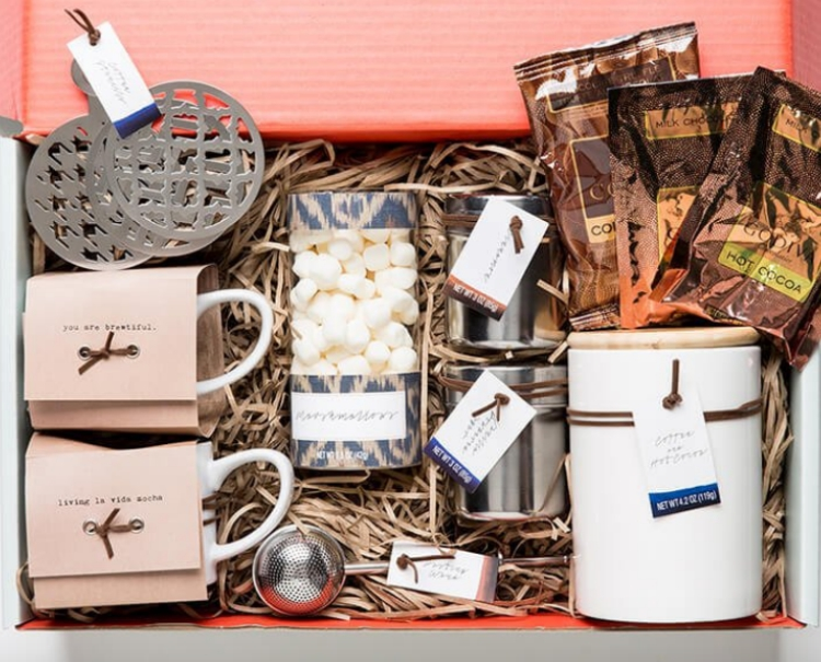 Thoughtfully's chocolate-lovers gift set