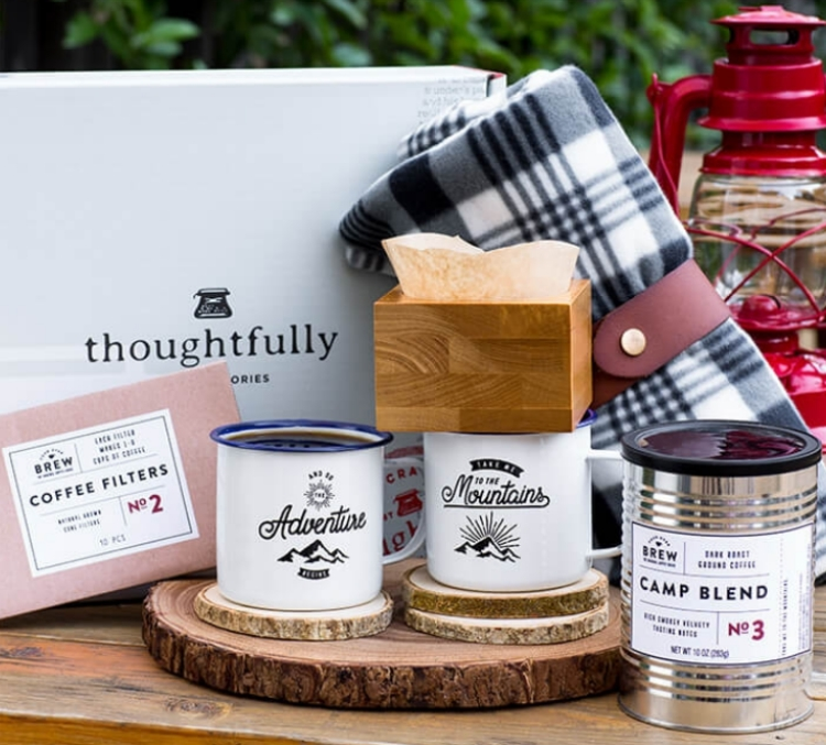 Thoughtfully's coffee-lover gift set