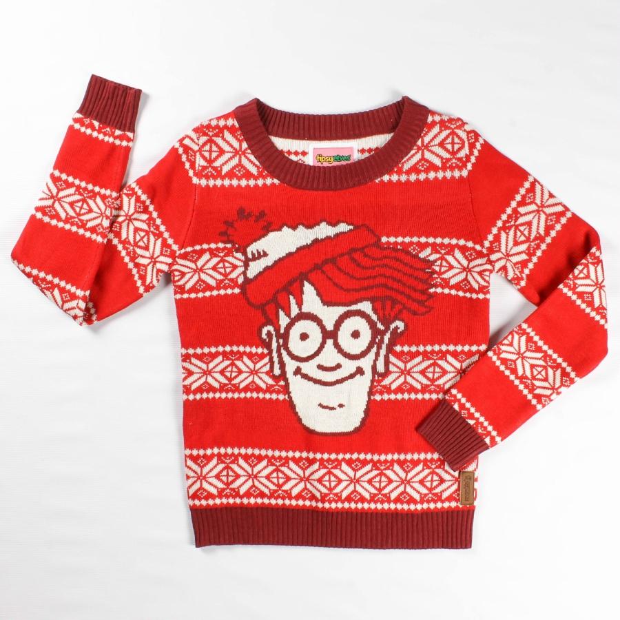 Where's Waldo Holiday Sweater