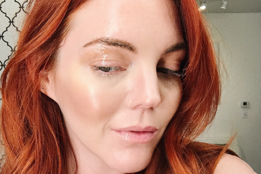 Glossy eye lid tutorial