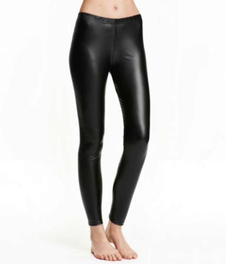 Imitation Leather leggings