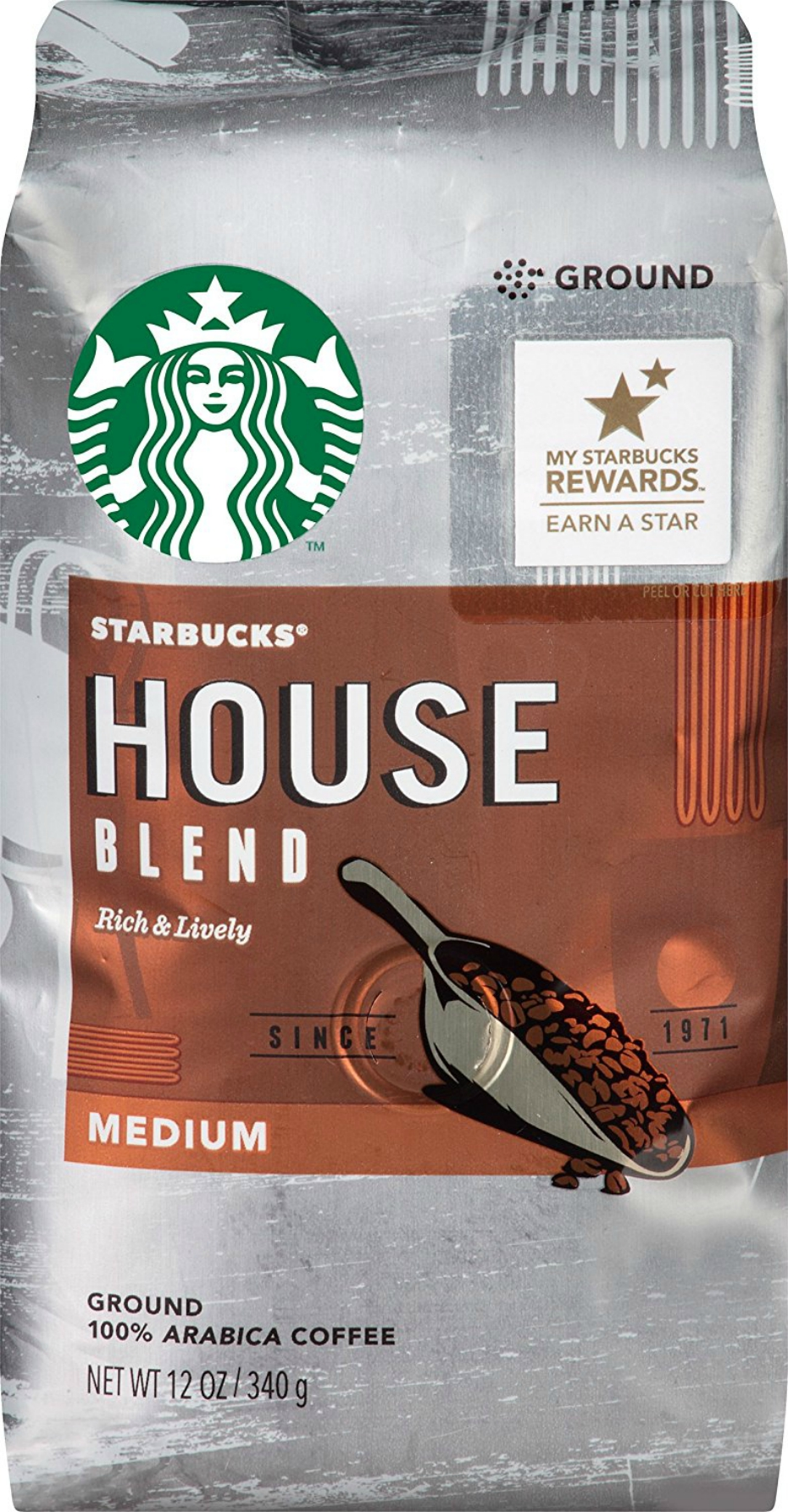 Starbuck's coffee beans