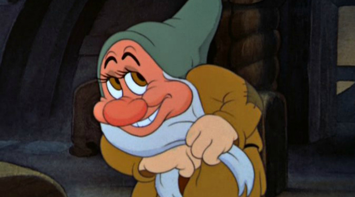 Bashful from 'Snow White and the Seven Dwarfs'