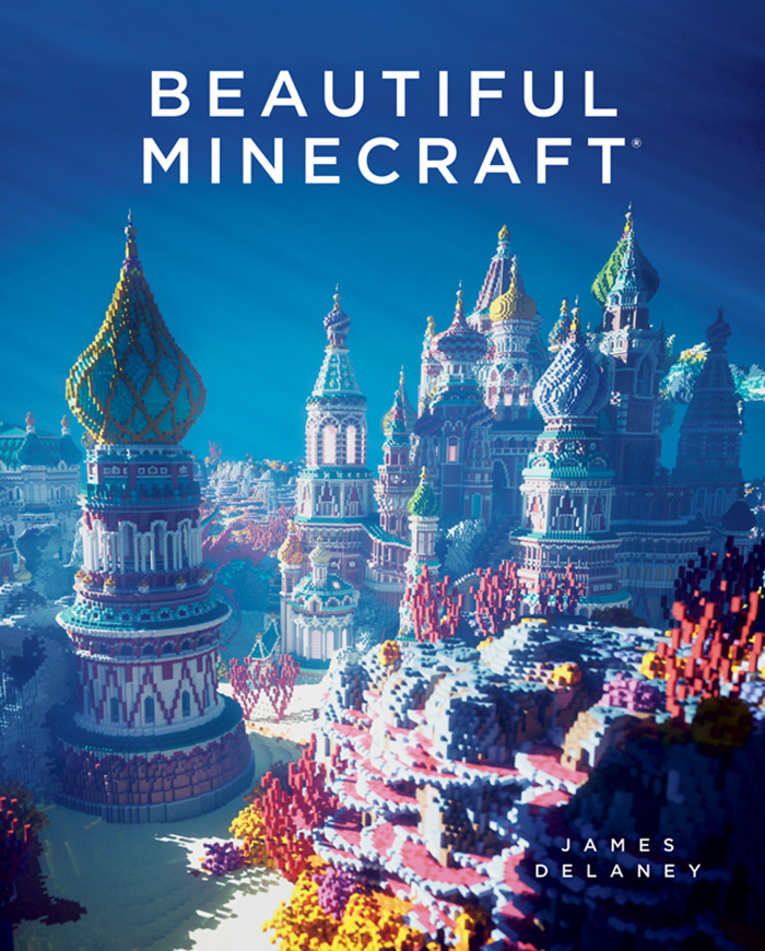 Beautiful Minecraft Book Cover