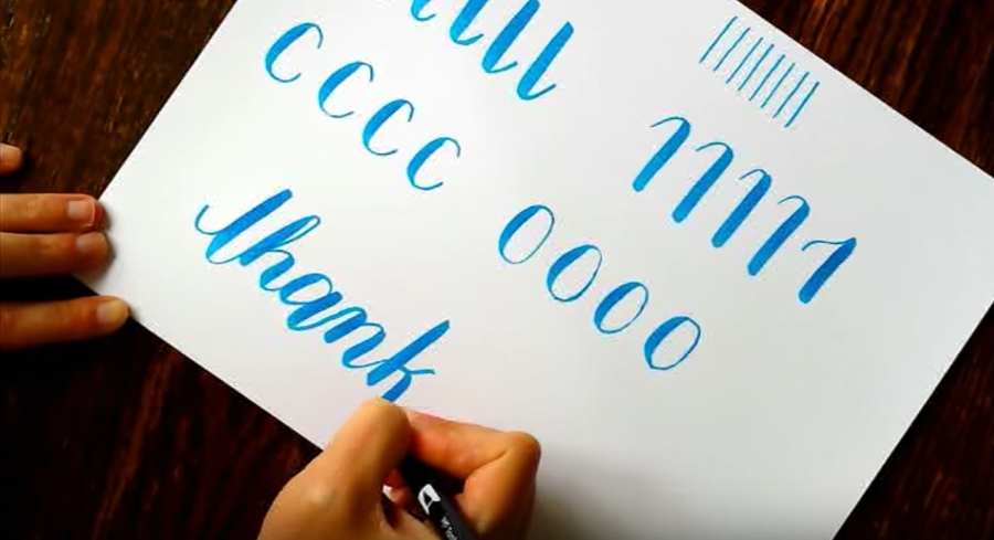 Trying To Learn Calligraphy In A Week With Youtube Tutorials