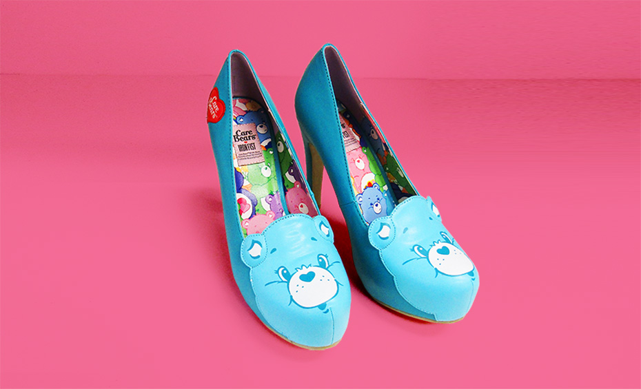 Care Bear Wish Bear Iron Fist Heels