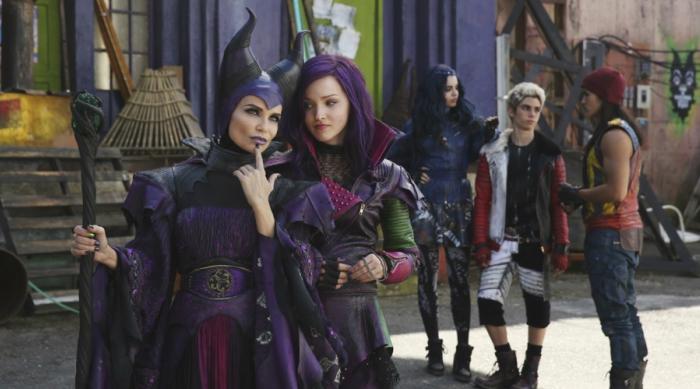 Mal and Maleficent in Disney's 'Descendants'