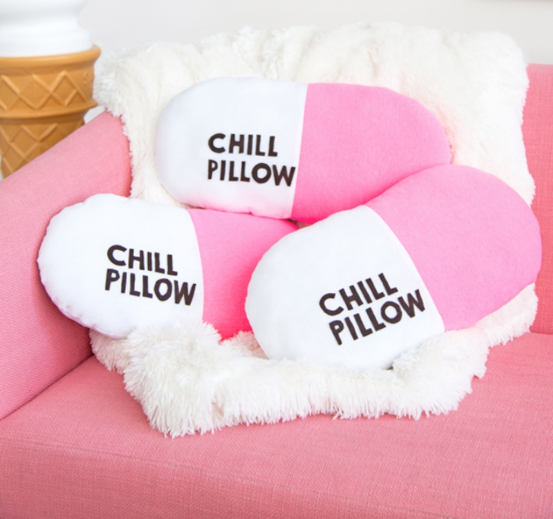 DIY chill pill-ow from Aww Sam