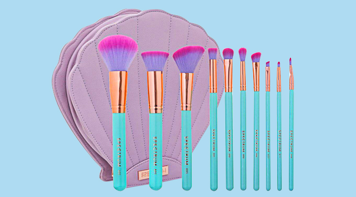 Mermaid brush set from Spectrum Collections