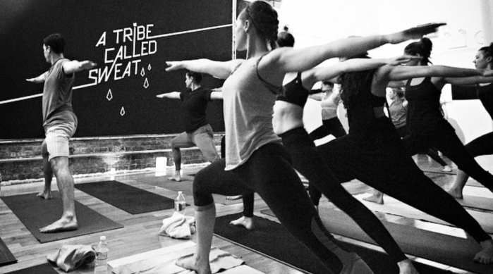Y7 Studio hip-hop yoga class