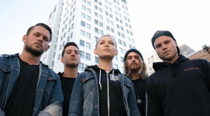 Australian rock group Tonight Alive