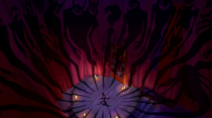 Jack Skeleton cameo in the Princess and the Frog