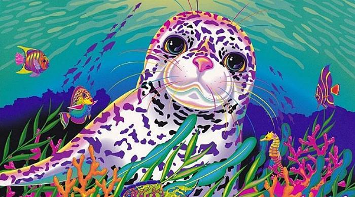 Lisa Frank seal pup character, Sandy