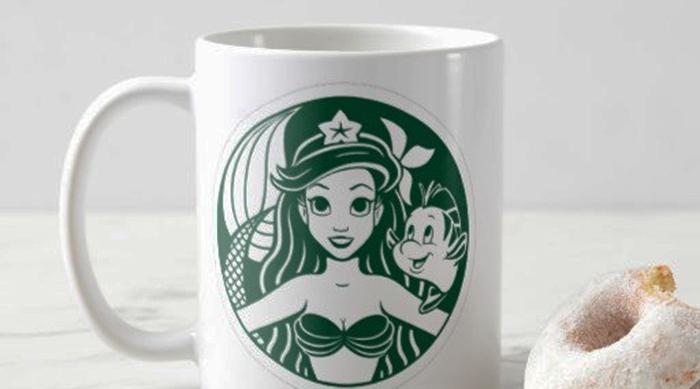 Little Mermaid Starbucks mug