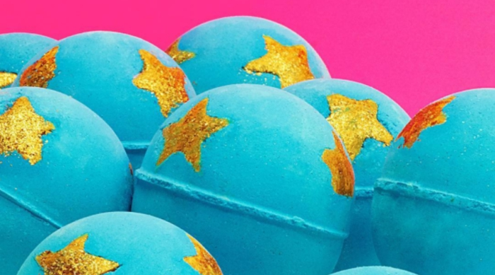 Lush Cosmetic's Shoot for the Stars bath bomb