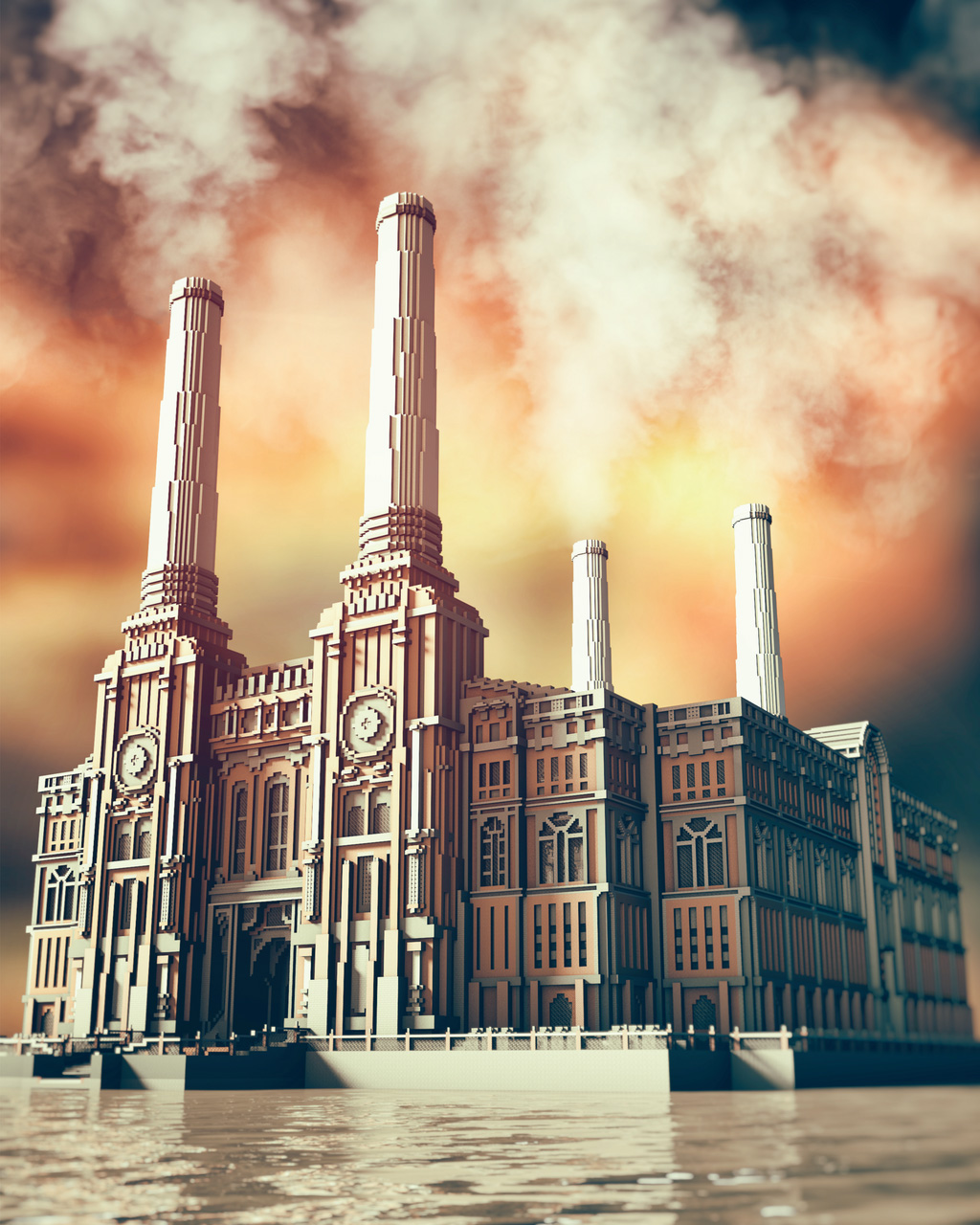 Beautiful Minecraft: Battersea