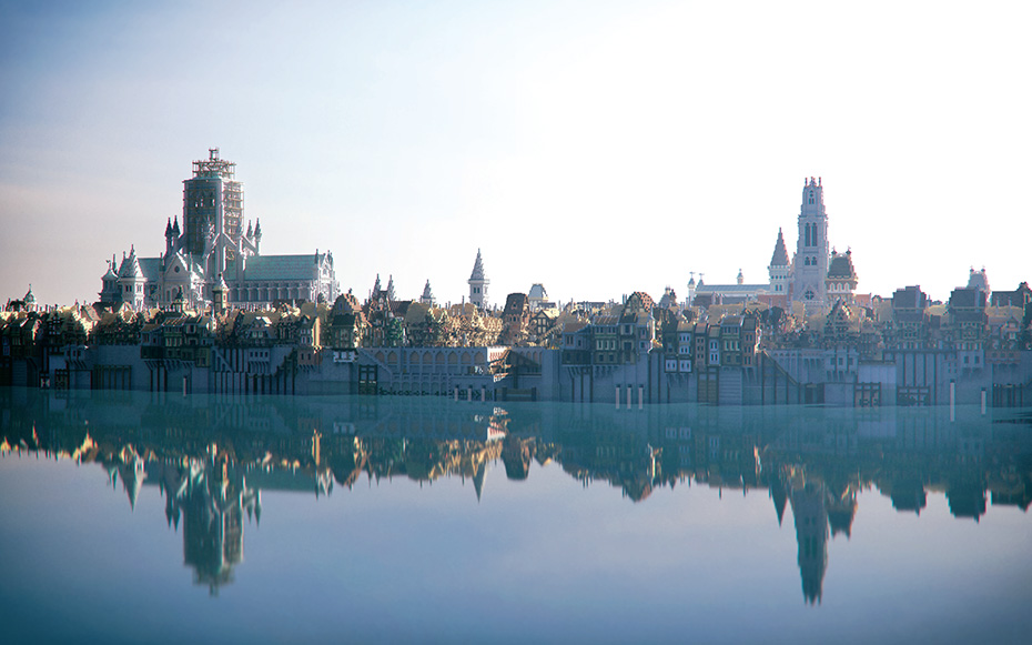 Beautiful Minecraft: London 1666