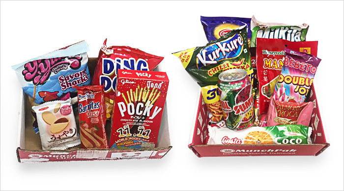 MunchPak items
