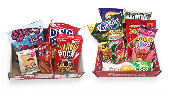 MunchPak items