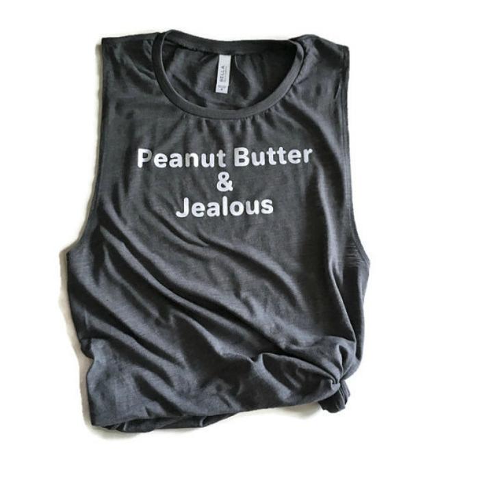 Peanut butter and jealous tank
