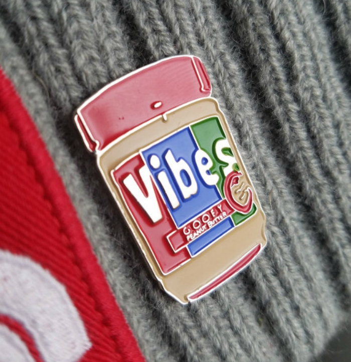 Peanut butter vibes pin