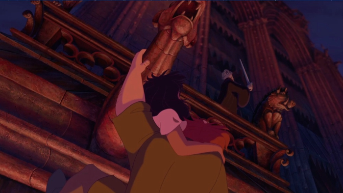 Pumbaa cameo in the Hunchback of Notre-Dame