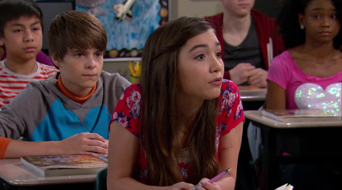 "Riley in class in ""Girl Meets World'"