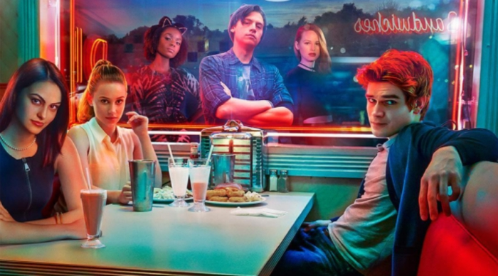 Cast poster for The CW's Riverdale show