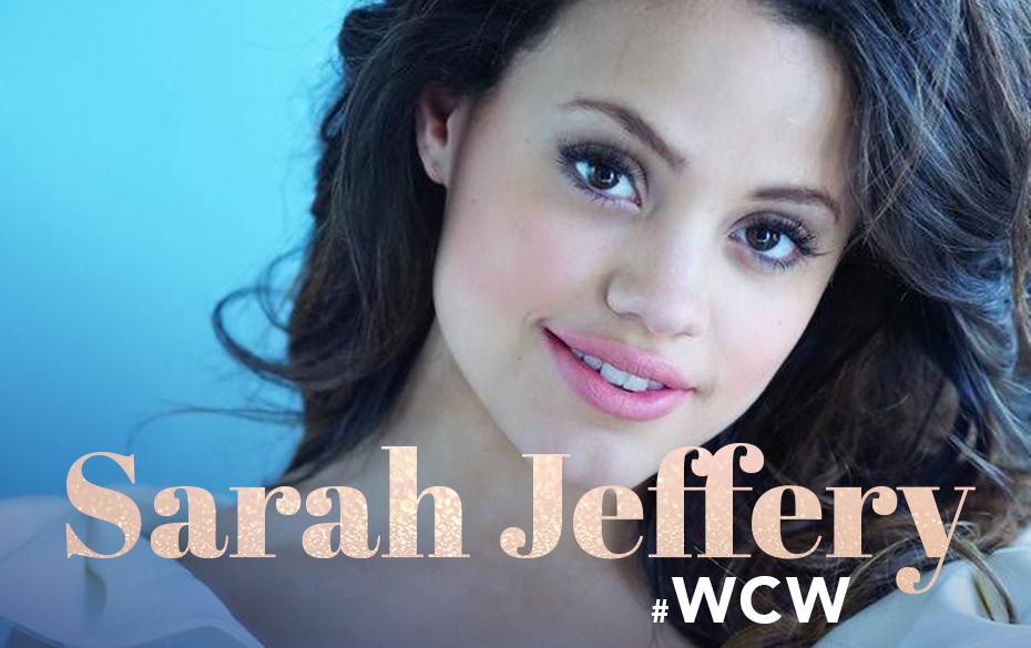 Sarah Jeffrey #WCW art
