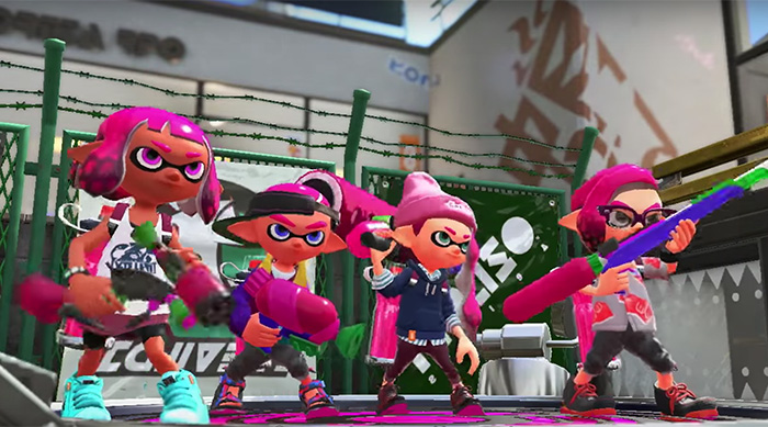 Nintendo Switch Splatoon 2 screenshot