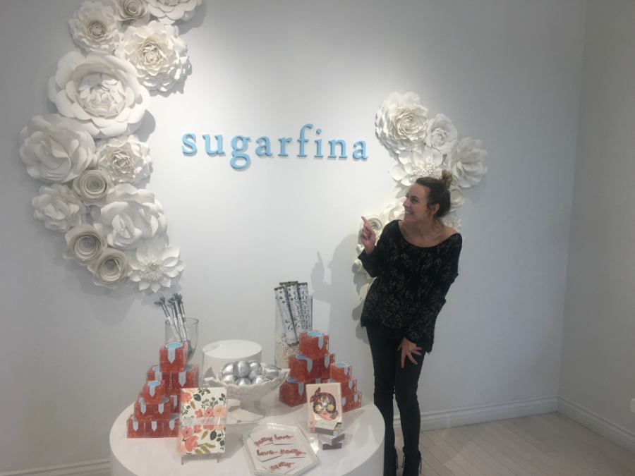 Me in front of Sugarfina