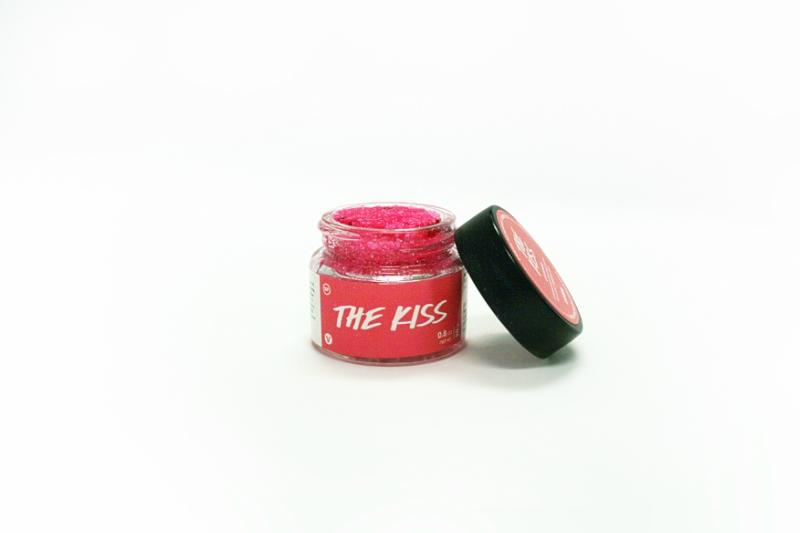 Lush's The Kiss lip scrub