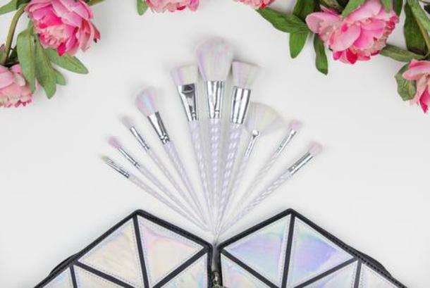 unicorn brush sets. unicorn makeup brushes brush sets