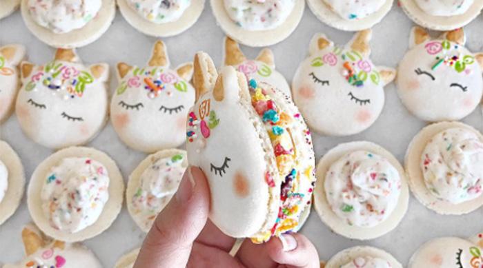 Unicorn Macaron from Mac Bakery