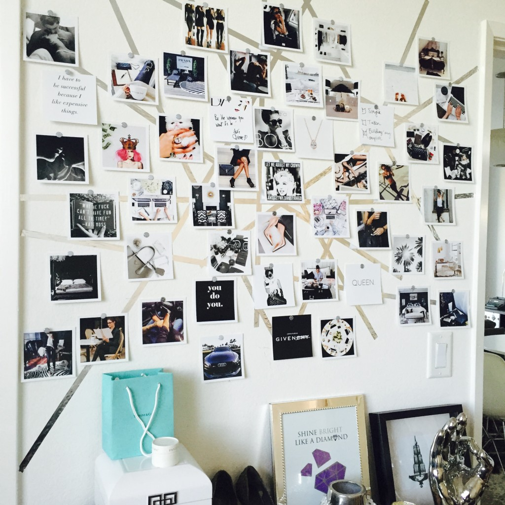 wall-style vision board