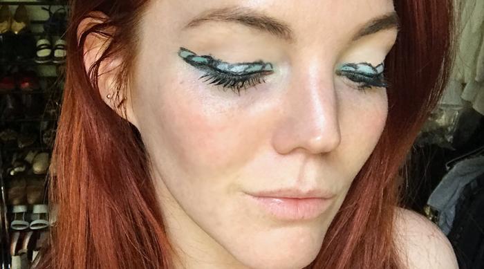 Mermaid Makeup Look Final