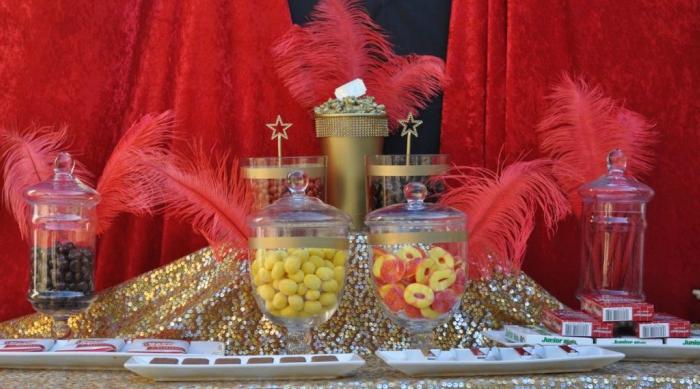 Oscar party candy bar featured
