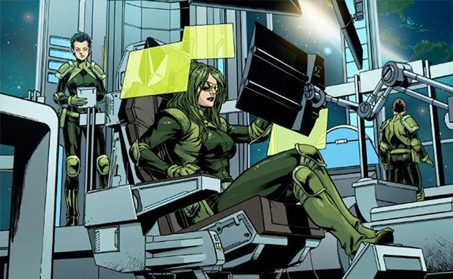 Marvel superhero Agent Abigail Brand
