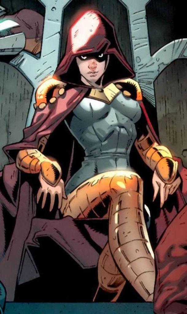 Marvel superhero Bella Donna Boudreaux aka Belladonna