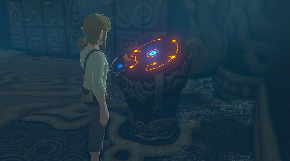 The Legend of Zelda: Breath of the Wild: Sheikah Slate