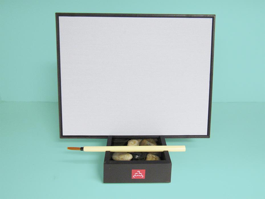 Buddha Board with brush setup