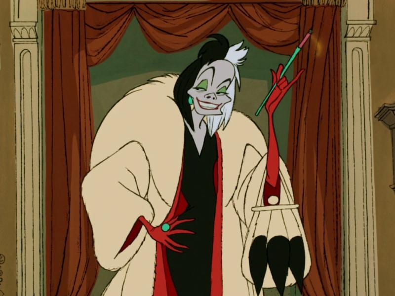 Cruella de Vil from Disney's 101 Dalmatians