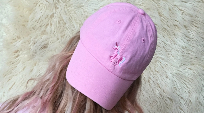 Unicorn dad hat from Etsy