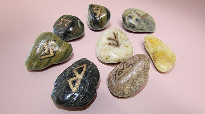 DIY Runes scattered