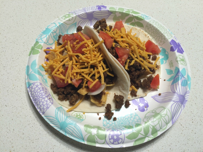 Vegan Frito Pie Tacos from The Taco Cleanse