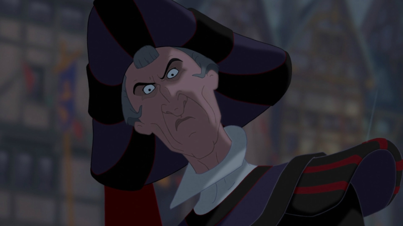 Frollo from Disney's The Hunchback of Notre Dame