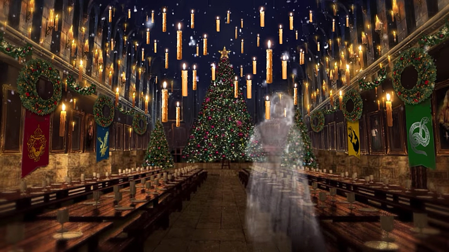 Great Hall Christmas Fantastic Beasts