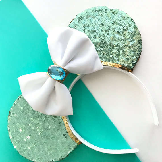 Jasmine-inspired Mickey Mouse Ears