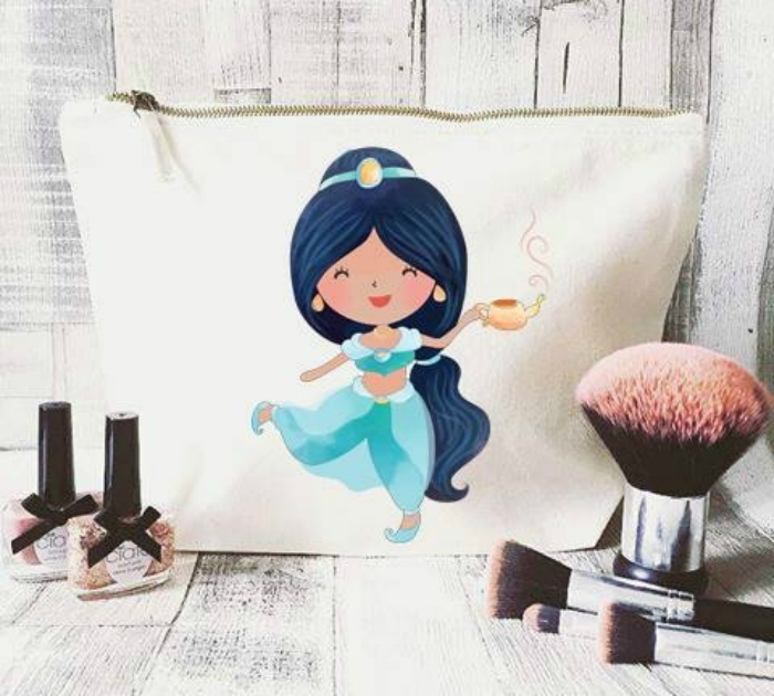 Princess Jasmine makeup bag