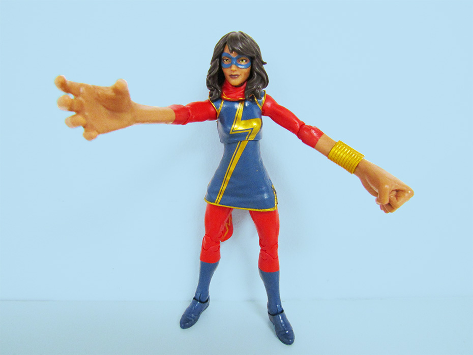 Hasbro Kamala Khan Marvel action figure stretchy hands